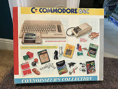 Commodore 64C Connoisseur's Collection + Games