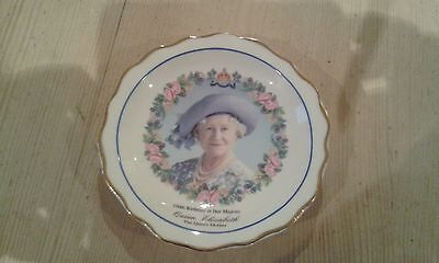 ROYAL CROWN DUCHY  Dish - Queen Mother 100th Birthday