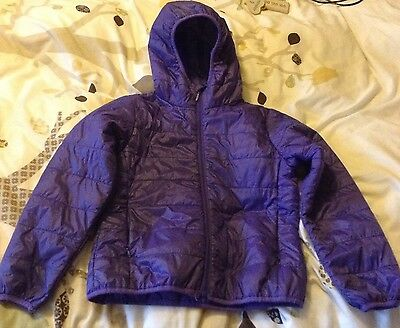 girls light weight padded coat aged 7-8 years