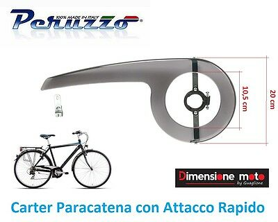 9940 Carter Paracatena Attacco Rapido 42/44 Denti per Bici 20-24-26-28 City Bike