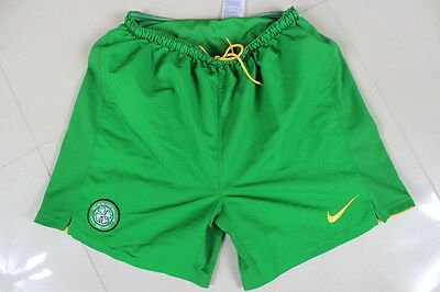 Authentic Football Shorts Nike Celtic 2008/10 Home Size (M)