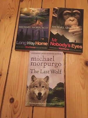 3 Michael Morpugo Books