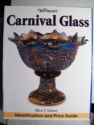 ANTIQUE CARNIVAL IRIDESCENT GLASS $$$ PRICE GUIDE BOOK Identification 5,000 LIST
