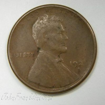 1920-S 1c Lincoln Wheat Small Cent XF /A-031