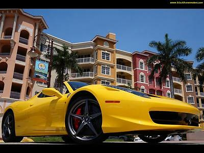 2012 Ferrari 458 Base Convertible 2-Door 2012 458 Spider Speciale red 355 360 456 430 575 550 LaFerrari Mclaren 650s
