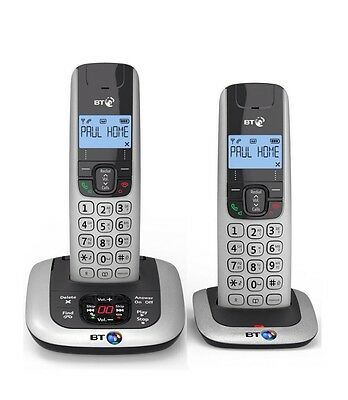 Bt3520 Twin Digital Cordless Phone With Answer Machine