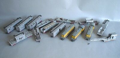 Athearn Union Pacific Full Convoy For Railway Line Maintenance With 4007 Diesel