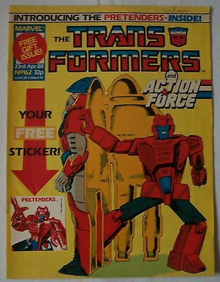 Transformers UK Comic Issue 162 Pretender to the Throne