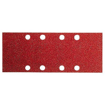 Bosch Sanding Sheets 80X133mm - 120G - Red (Wood) Pack of 10