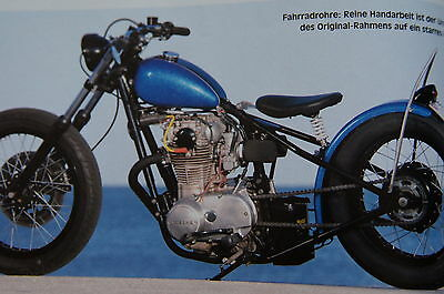 Yamaha XS 650 500 400 360 250 Wahl-BERICHT/REPORT special cup xs1 xs2 1 2