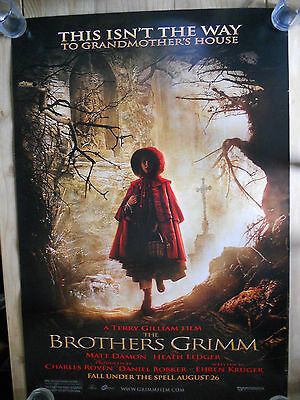 The Brothers Grimm Movie Quad Poster