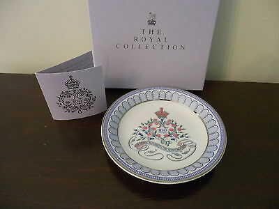 ROYAL COLLECTION QUEEN ELIZABETH THE QUEEN MOTHER 100th Year COASTER  TRAY