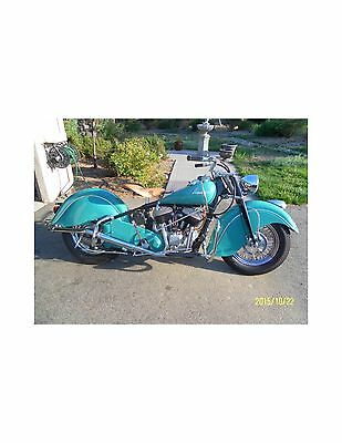 1948 American Classic Motors Chief  1948 Indian Chief Motorcycle