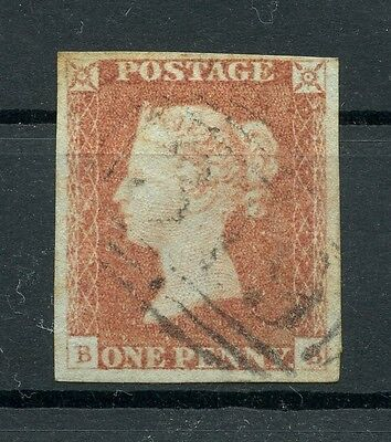 GREAT BRITAIN / GB 1841 1d Penny Red - Letters BB - Used - SG 8?