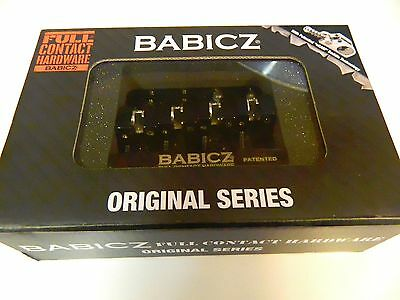 Babicz Full Contact Hardware Fch4Bk 4-String Bass Bridge Black For Rh Or Lh