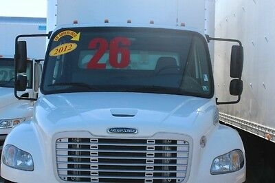 2012 Freightliner M2 26 foot  BOX TRUCK with lift gate