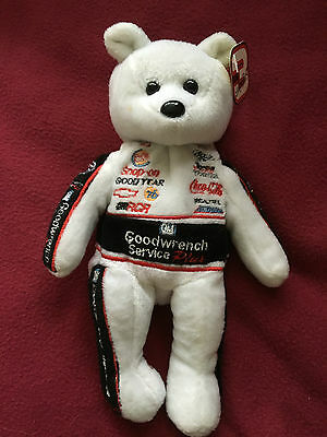 Nascar Beanie Gold 'n' Bear, Dale Earnhardt '3', Goodwrench Collectable