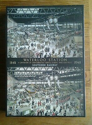 Gibsons jigsaw 1000 pieces 'Waterloo Station' New
