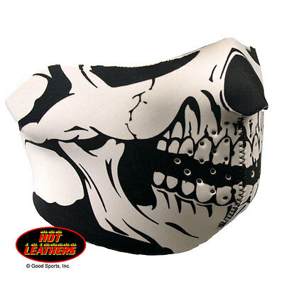 Skull Design Motorcycle Biker Ski Snowmobile Neoprene Half Face Mask #1002