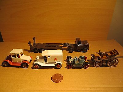 Nice collection of Vintage Diecast EFSI, Best Box, Benbros, Charbens Budgie GC
