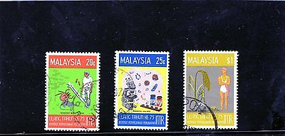 Malaysia - 1976 F/used Medical Research Set.