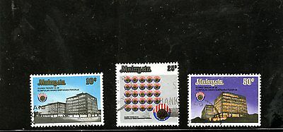 Malaysia - 1976 F/used Provident Fund Anniversary Set.