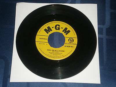 """Marvin Rainwater - Gonna Find Me A Bluebird - 1957 Mgm 7"""" Single - Country Gem"""
