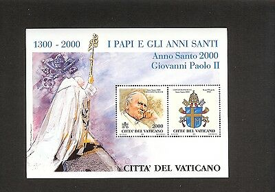 Vatican block 21 2000 Holy Year 2000 (7th issue). .