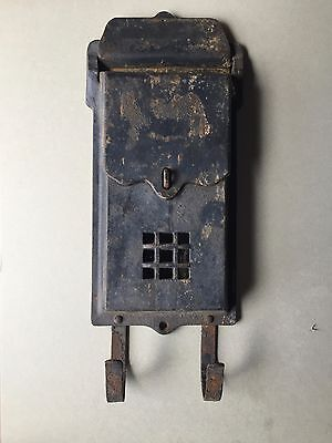 Cast Iron Home House Letter Mailbox