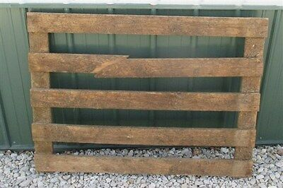4' Oak Swinging Gate Wood Fence Heavy Sorting Cemetery Garden Yard Ornament g