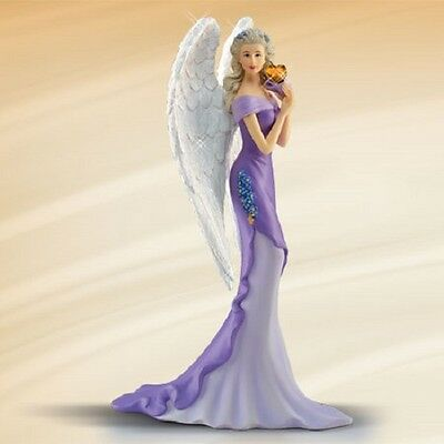 Angel of Strength - Angels of Caring Figurine Thomas Kinkade  Bradford Exchange