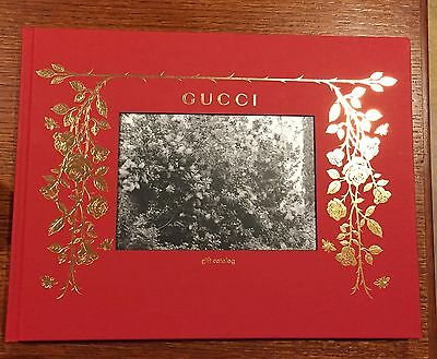 New Gucci Gift Catalog 2016 2017 Hard Cover Bound VIP