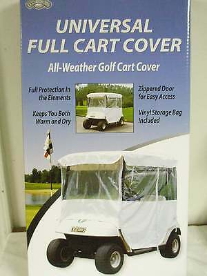 On Course Universal Full Golf Cart Cover NEW