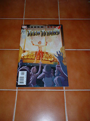 Teen Titans ; Year One 4 (Of 6).  Nm- Cond. June 2008  Dc Comics.