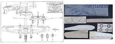 Skyleada Kit Bell Airacuda Solid Scale Model