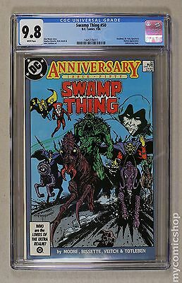 Swamp Thing (1982 2nd Series) #50 CGC 9.8 (1445735011)