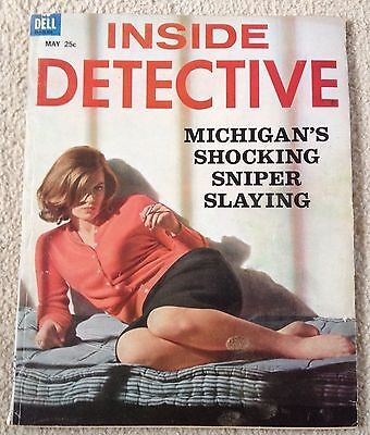 Inside Detective Magazine May 1963