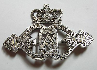 Edinburgh Scotland, Unidentified Hallmarked Silver Badge
