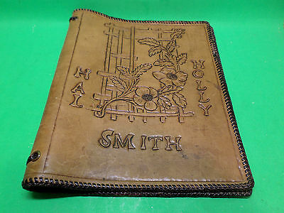 Hand Made Leather Book Cover