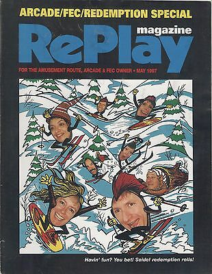 RePlay Magazine May. 1997 good  condition
