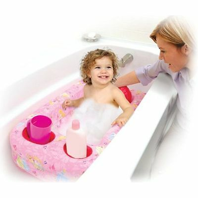 New Disney Princess Inflatable Baby Infant Toddler Bath Tub Portable