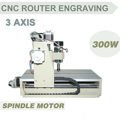 3AXIS Industry Router Engraver Engraving Drilling/Milling Machine 300W CNC2015