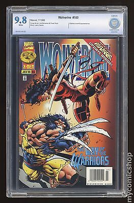 Wolverine (1988 1st Series) #103 CBCS 9.8
