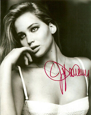 Jennifer Lawrence Signed Poster Photo Rp Autographed Picture