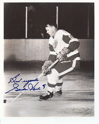 Gordie Howe Signed Photo Rp Auto Autographed Hockey