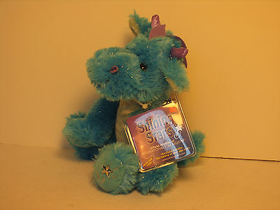 New with One Tag Dragon Plush Shining Stars Russ Berrie One Tag is missing 34430