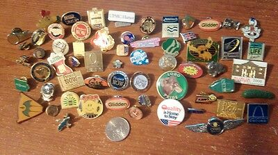 Junk Drawer Lapel Pins Misc Advertisement Fraternal States Vintage and More (61)