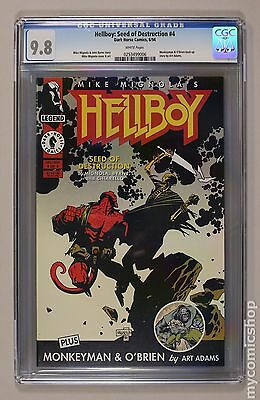 Hellboy Seed of Destruction (1994) #4 CGC 9.8 (0253499006)