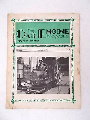 """1974 May-June  """"the Gas Engine Magazine"""""""