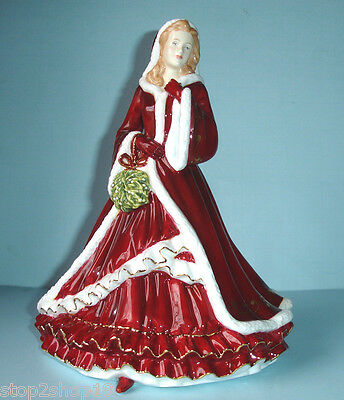 Royal Doulton Christmas Day 2011 Figurine Pretty Ladies HN5429 New In Box